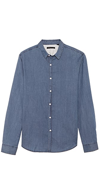 Theory Zack Chambray Shirt