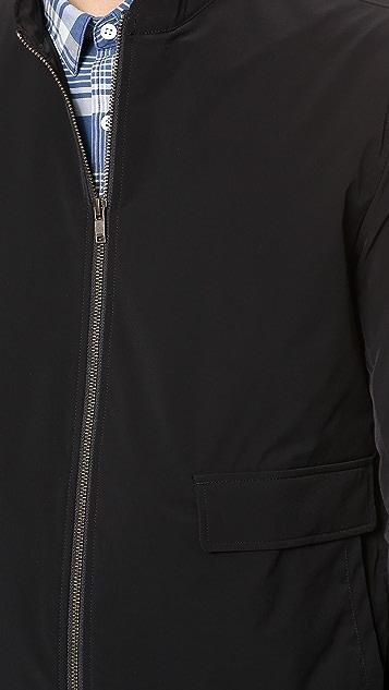Theory Traverse Zip Bomber Jacket