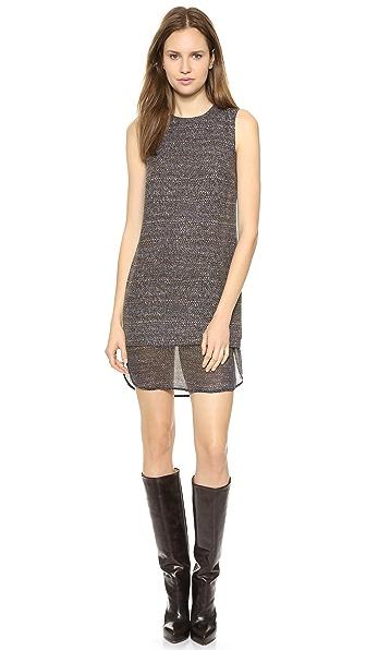 Theory Multi Tweed Print Hassil C Dress