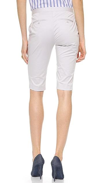Theory Summer Twill Jitney Shorts