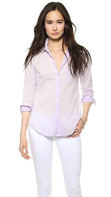 Theory Cotton Lawn Perfect Button Down