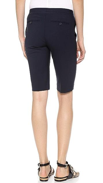 Theory Savile Row Jitney Shorts