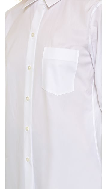 Theory Sartorial Perfect Button Down