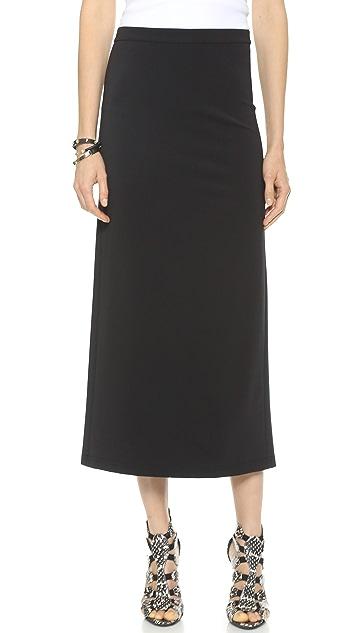 Theory Techno Jersey Sanleen Skirt