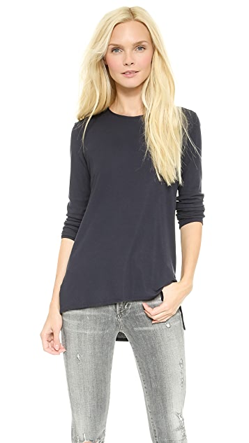 Theory Alaina B Ribbed Top