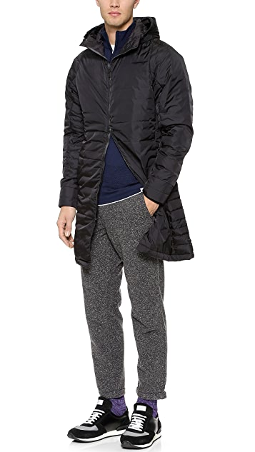 Theory Harding Timur Long Coat