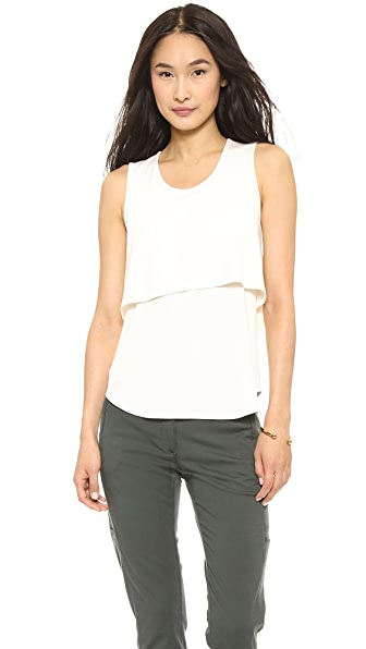 Theory Ribbed Lumpkin Tank
