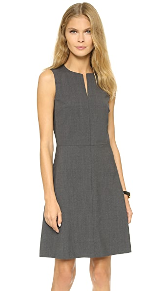 Theory Edition Miyani Dress - Charcoal