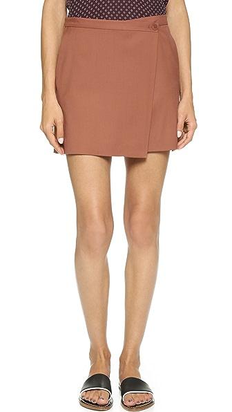 Theory Classy Wool Kirti Skirt