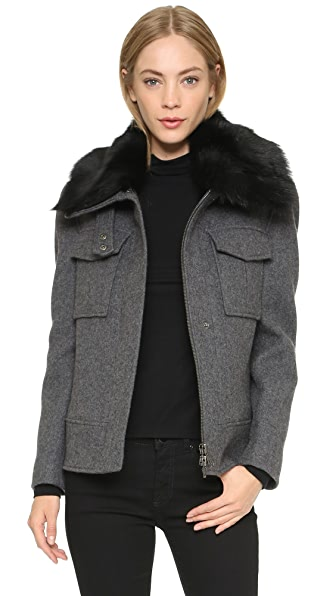 Theory Bolton Glormari Bomber Coat