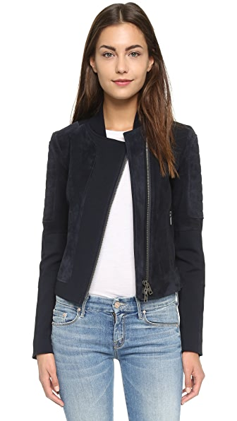 Theory Shezi K Perfect Suede Jacket