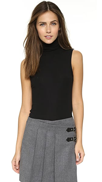 Theory Wendel Sleeveless Sweater - Black