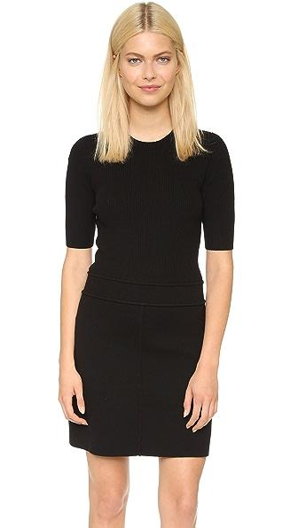 Kupi Theory online i prodaja Theory Evian Lexianna C Dress Black-Black haljinu online