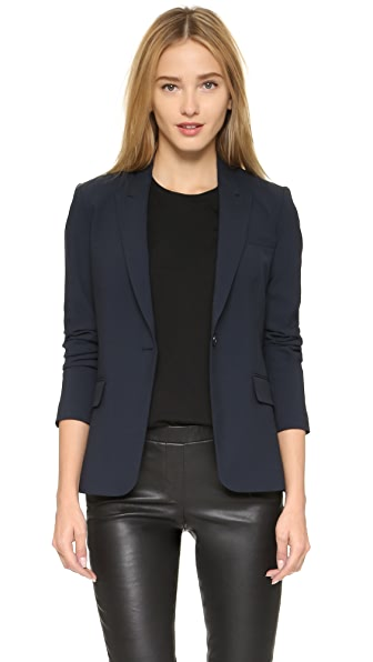 Theory Edition Four Dief Blazer - Deep Navy at Shopbop