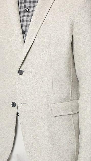 Theory Tobius Reish Cashmere Jacket
