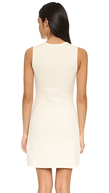 Theory Irelia Geometric Knit Dress