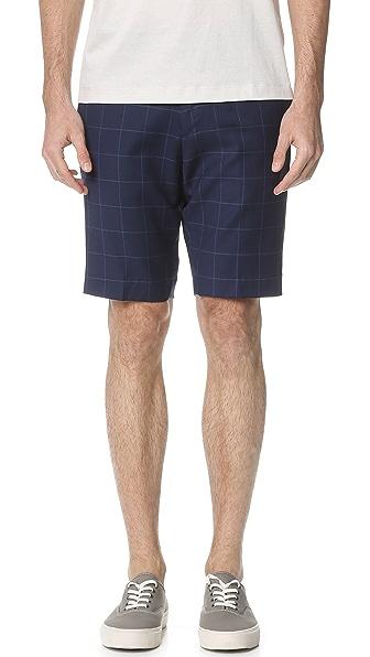 Theory Beck Deft Shorts