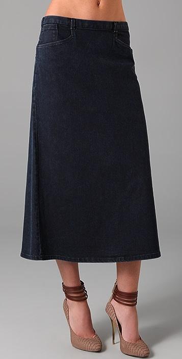 Theyskens' Theory Siro Denim Skirt