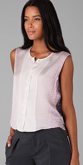 Theyskens' Theory Tedard Iskin Top
