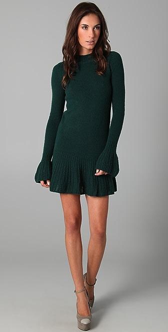 Theyskens' Theory Kyoda Yeva Cashmere Sweater Dress
