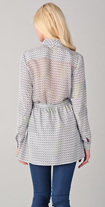 Theyskens' Theory Byonie Blouse