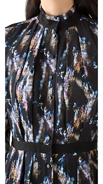 Theyskens' Theory Derra Icrystal Maxi Dress