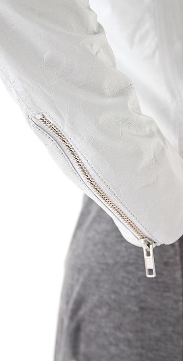 Theyskens' Theory Jose Nota Leather Jacket