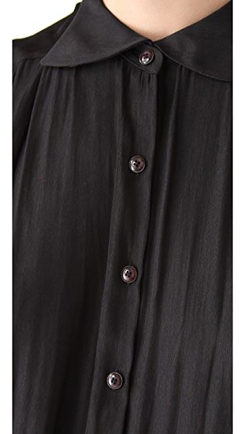 Theyskens' Theory Braque Fesler Blouse