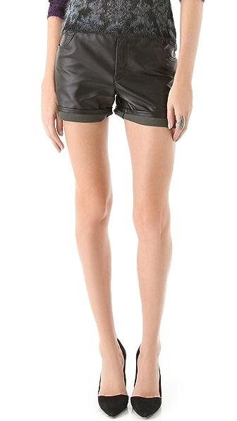 Theyskens' Theory Porty Fomatsu Shorts