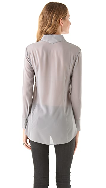 Theyskens' Theory Bross Franky Blouse