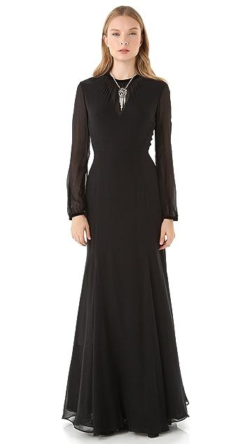 Theyskens' Theory Dacky Felta Dress