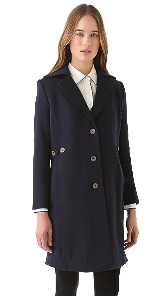 Theyskens' Theory Melaya Flok Coat