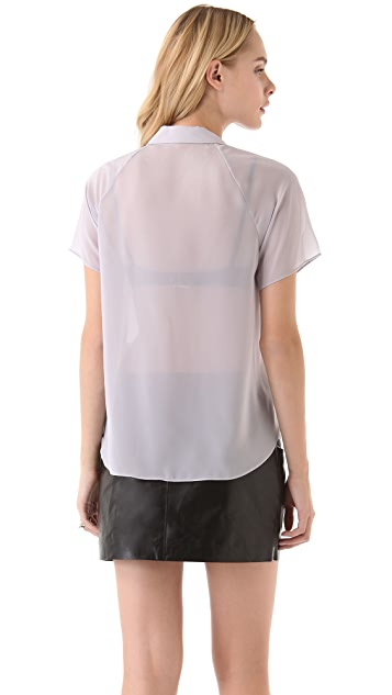 Theyskens' Theory Boma Franky Blouse