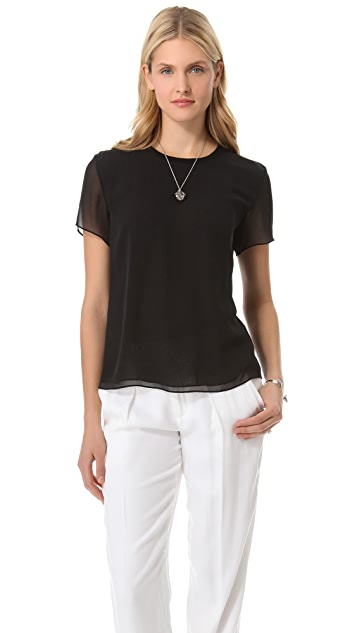 Theyskens' Theory Biche Felta Top