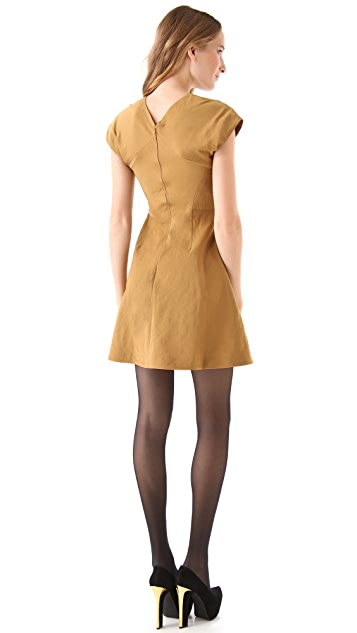 Theyskens' Theory Dabor Faccia Dress