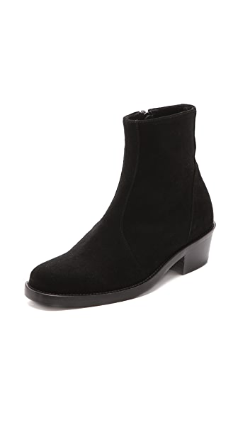 Theyskens' Theory Edie Low Heel Booties