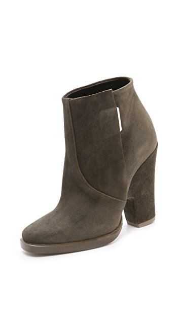 Theyskens' Theory Alito Suede Booties