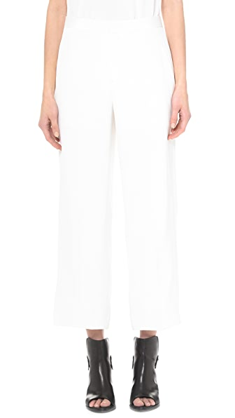 Theyskens' Theory Felect Pheobe Ankle Cropped Wideleg Pants