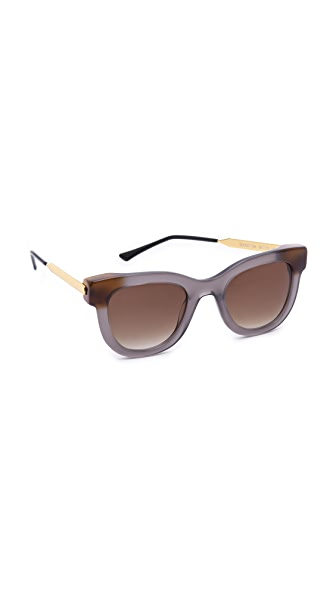 Thierry Lasry Sexxxy Sunglasses In Grey/Brown Gradient