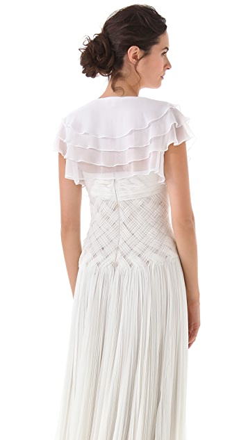 Thread Tiered Capelet