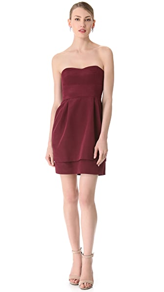 Thread Kiley Strapless Dress with Double Skirt