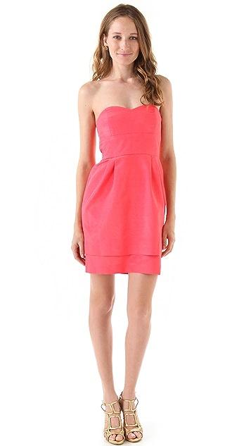 Thread Kiley Strapless Dress with Double Skirt
