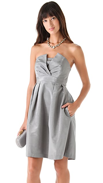 Thread Liddy Strapless Dress