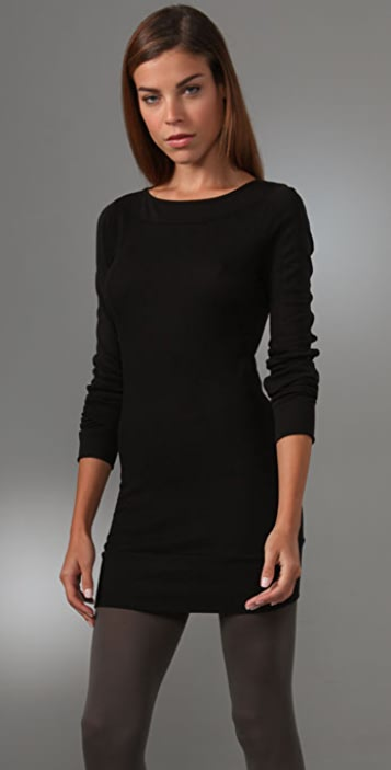 Three Dots Long Sleeve Dress