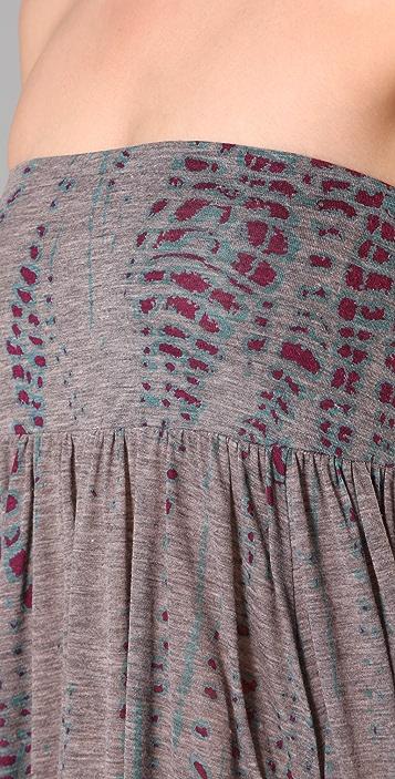 Three Dots Silver Sage Skirt / Dress