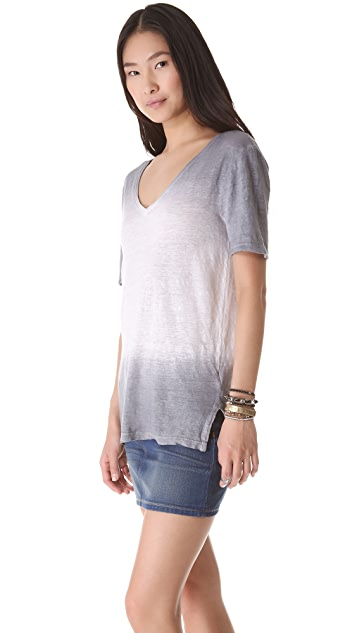 Three Dots Ombre Relaxed Tee
