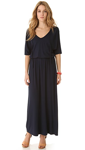Three Dots Minnie Mortimer Dolman Maxi Dress