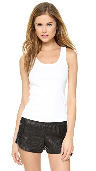 Three Dots Flat Knit Tank