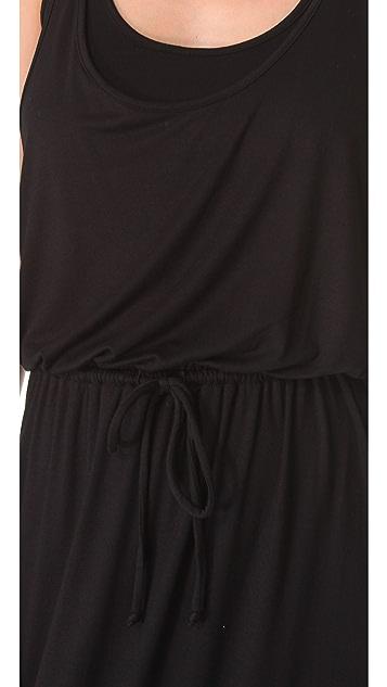 Three Dots Drawstring Maxi Dress