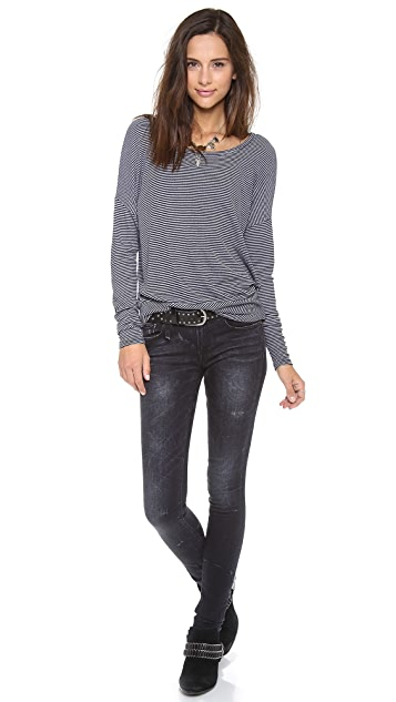 Three Dots Relaxed Tee